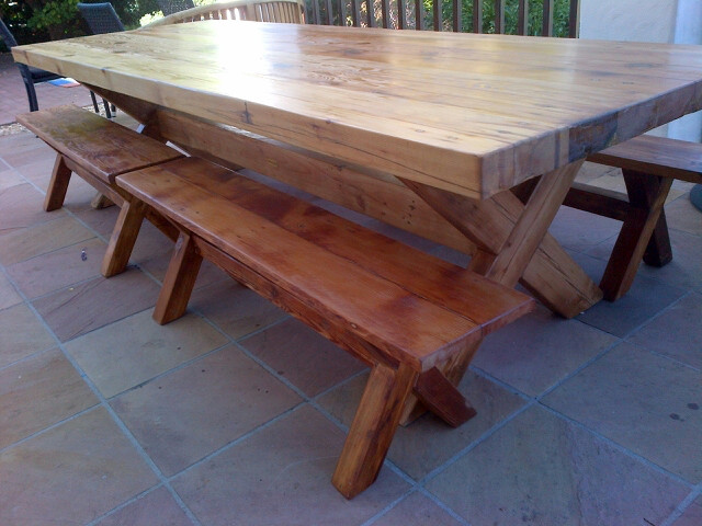 Adrian Straus outdoor table