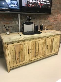 Side server in antique pine room2