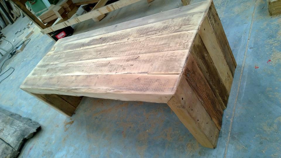 Rustic Oregon coffee table