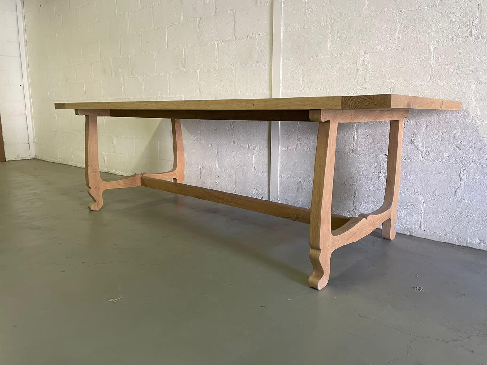 Oak dining room table Kefalonia