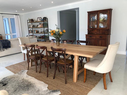 Cassey French oak dining room table