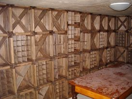 Crate Stuff! wine cellar