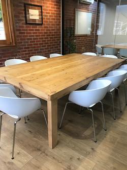 Boardroom table in Oregon