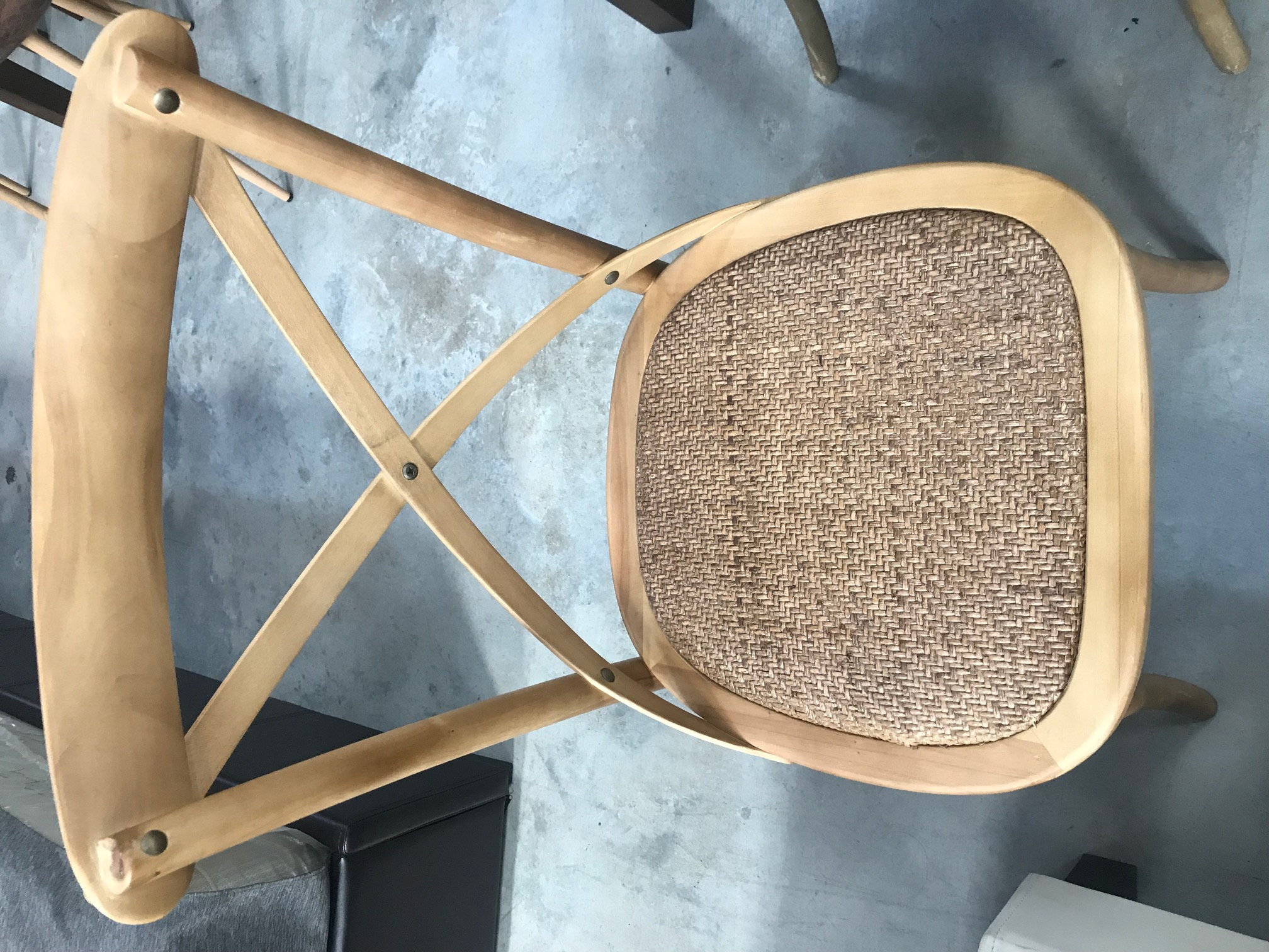 French country chairs wood