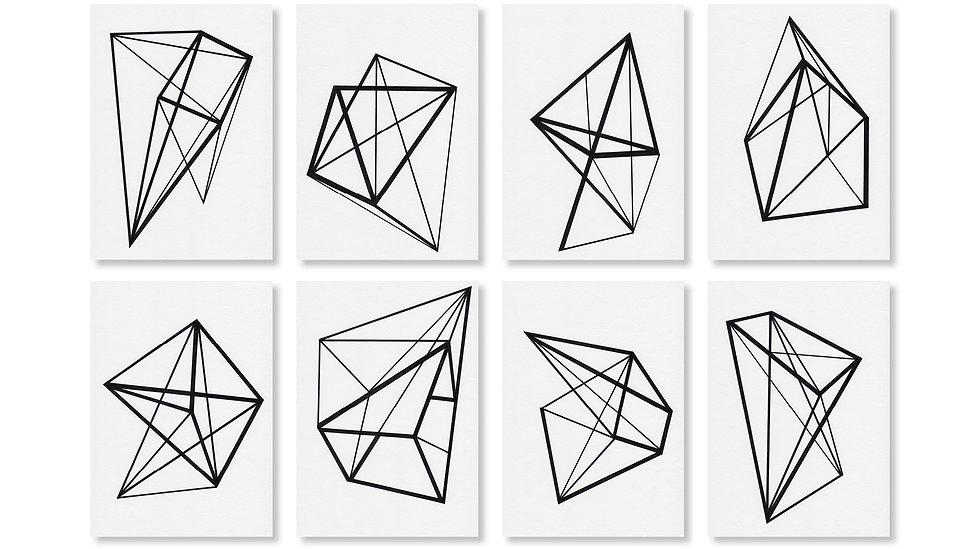 Geometrical Constructs I - VIII