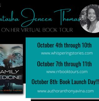 Natasha's Virtual Book Tour: Coming Soon!