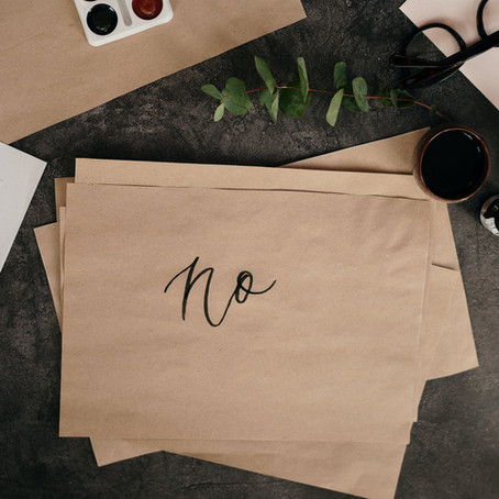 """Setting Boundaries: Why Saying """"No"""" is Tough but Necessary"""
