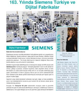163. Yılında Siemens Türkiye ve Dijital Fabrikalar