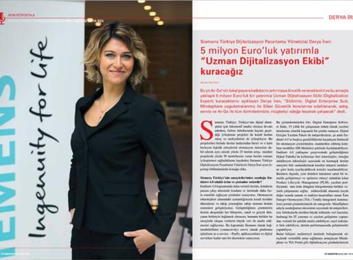 5 milyon Euro'luk bir yatırımla Uzman Dijitalizasyon Ekibi kuracağız