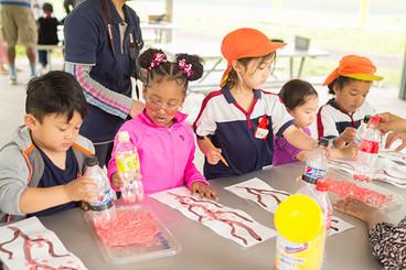International exchange at Sasebo nursery school