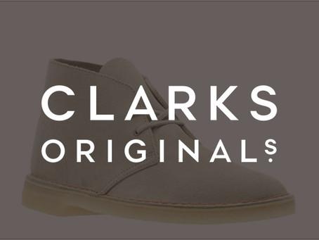 CLARKS(クラークス)ブランドページを開設しました。