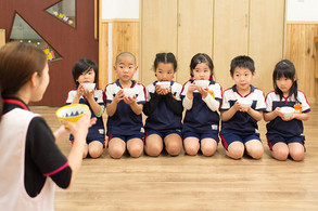 Scenery of a nursery school in Sasebo City, Nagasaki Prefecture