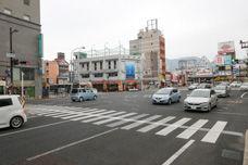 National road near Sasebo station