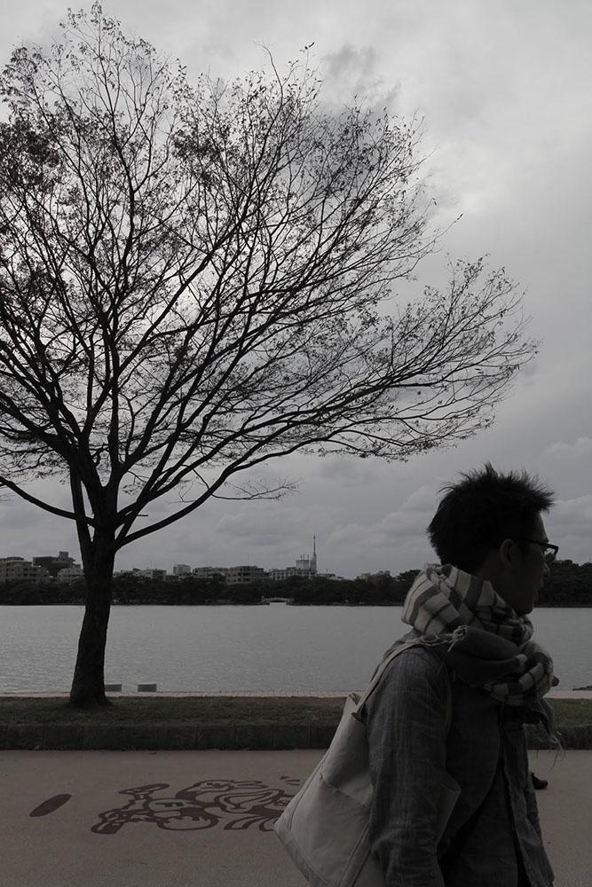 アーティストの宣材写真の撮影事例|福岡のフォトグラファー