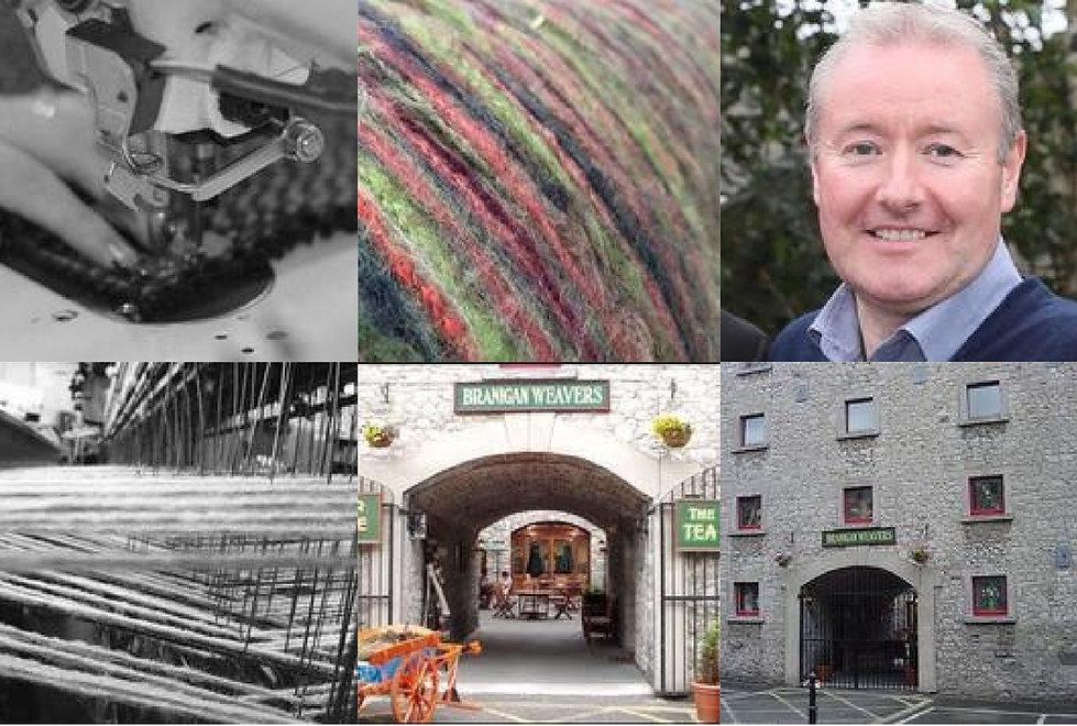 ジョンブラニガンの風合いのある独自の編み方は、メンズ、レディース共に人気。お気に入りの一着を。