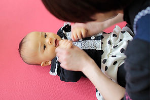 Infants of popular nursery school in Nagasaki
