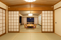 部屋の窓の景色をレタッチ合成した建築写真   福岡のカメラマン