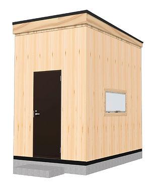 物置や勉強部屋に最適な小屋