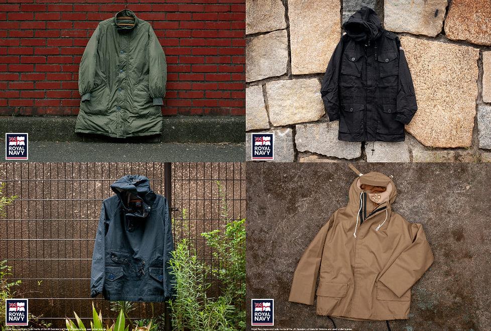 ROYAL NAVY (ロイヤル・ネイビー)のブリティッシュアーミーなシャツ、ジャケット、パンツなどを店舗やショップで販売