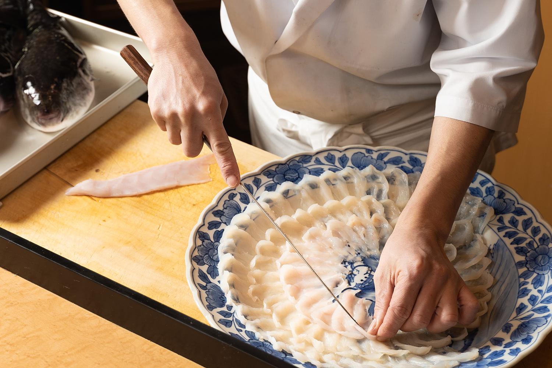 料亭の盛り付けの料理撮影 | 福岡の写真事務所