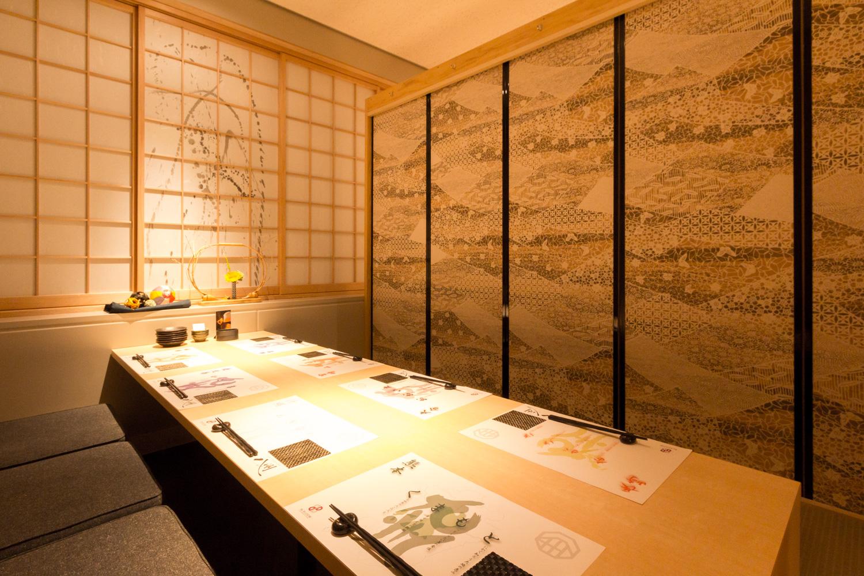 襖のあるお座敷の写真撮影事例 | 福岡の写真事務所