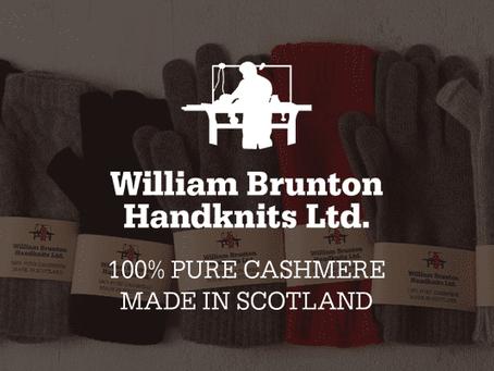William Brunton Hand Knits(ウィリアム・ブラントン・ハンド・ニッツ)ブランドページを開設しました。