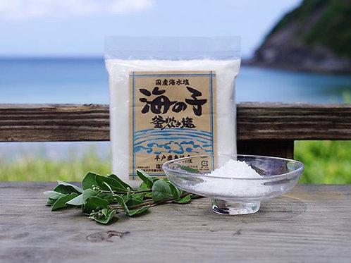 長崎県平戸産 釜炊き塩