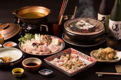 福岡の写真事務所のカメラマンが日本料理のフルコース撮影