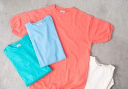 夏におすすめの着込んだような柔らかな質感のSTAR&STRIPEのTシャツを販売