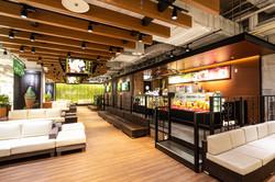 博多区のカフェの内装写真  福岡の写真事務所