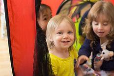 Children of Sasebo's international popular nursery school