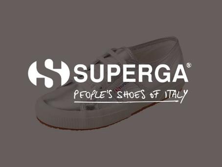 SUPERGA(スペルガ)ブランドページを開設しました。