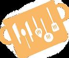 給食を料理する鍋