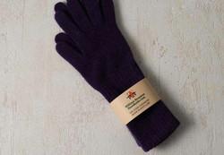 William Brunton Hand Knits(ウィリアム・ブラントン・ハンド・ニッツ)のブラックのカシミア手袋