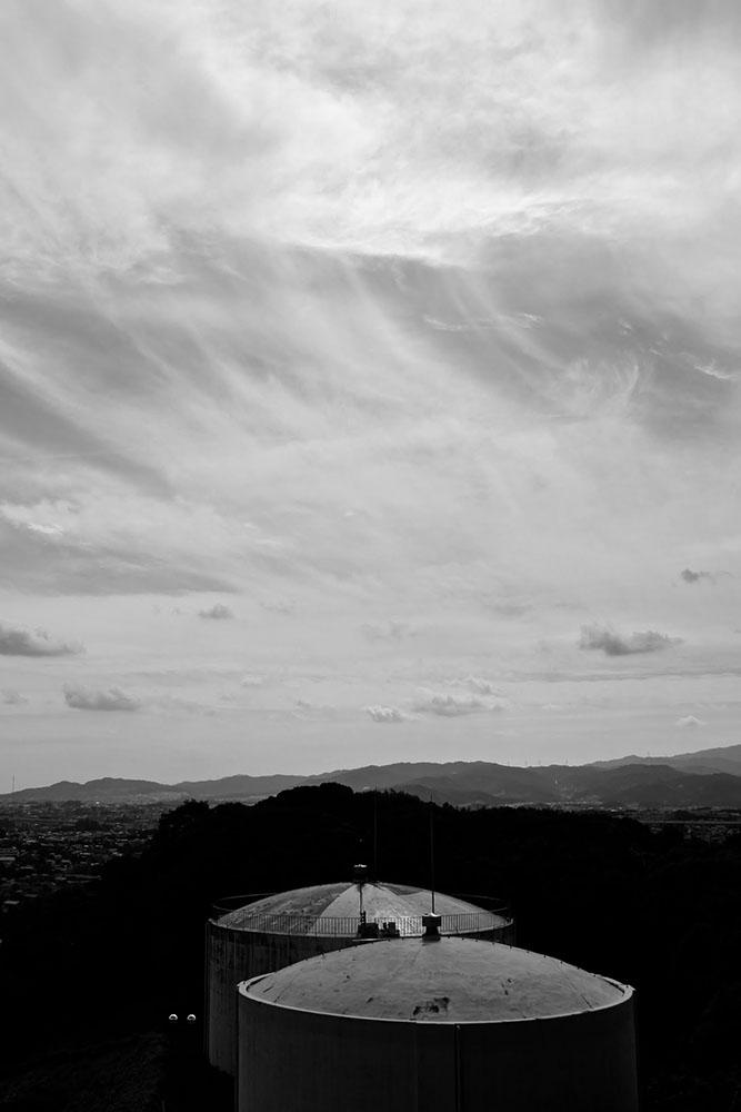 雲のモノクロ撮影写真|福岡のカメラマン