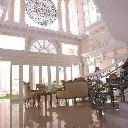 Interior Rumah Tinggal Seni Eropa Klasik