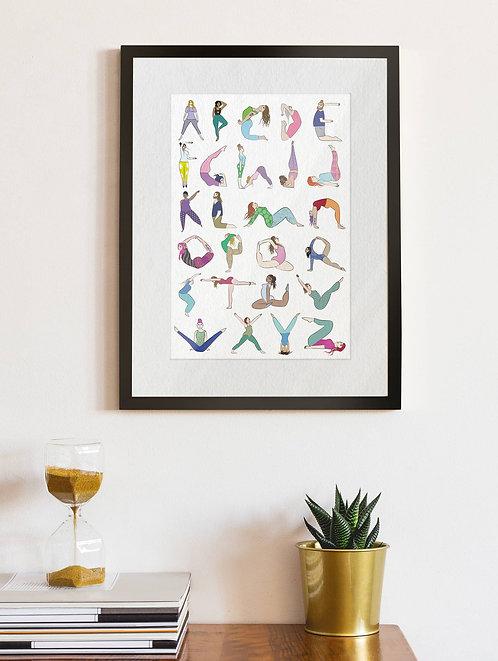 Yoga Alphabet