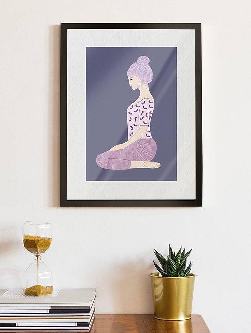 Purple Haired Yogi