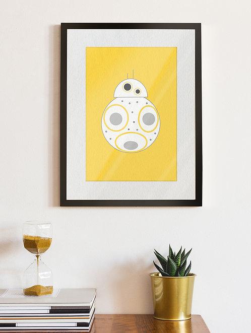 BB8 Zingy Yellow