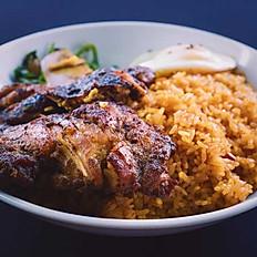 Grilled Chicken Rice Bowl
