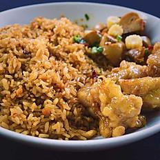 Ginger Chicken Rice Bowl