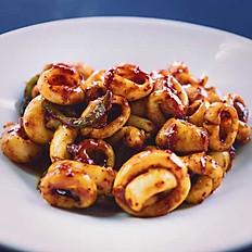 Stir-Fried Calamari