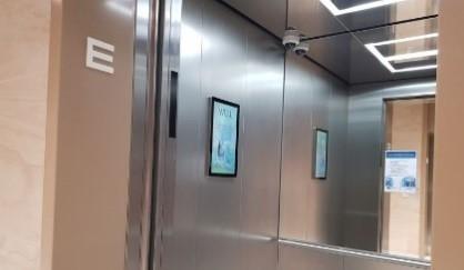 digitális reklám lift iroda irodaház