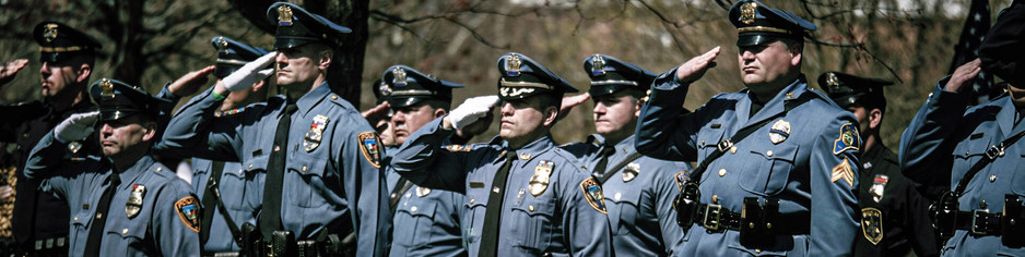 LIVESTREAM Huge Funeral for Phillipsburg Policeman