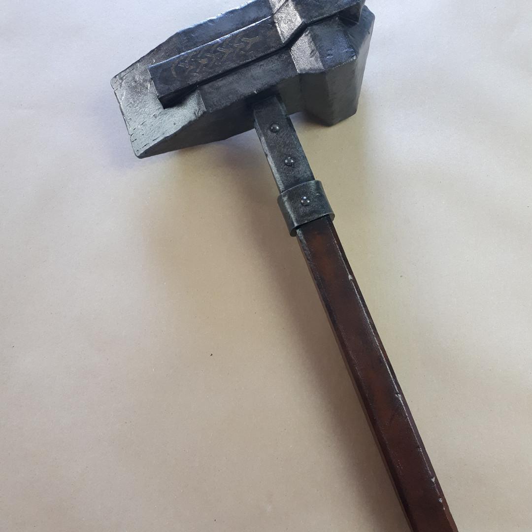 The Hobbit - Dwalins Warhammer