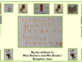"""Brown Bear says """"Thank you!"""""""