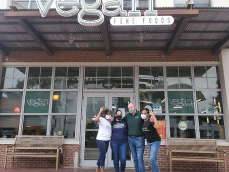 New Legacy Vegans Lands on the Shelf of Popular Vegan Grocery Store!!