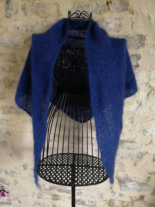 Châle DOUCINE Bleu