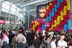 Andy Warhol Event Stage