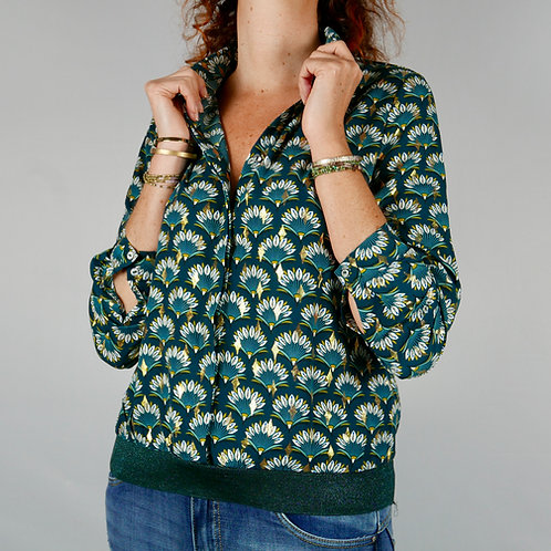 Blouse ISA (green)